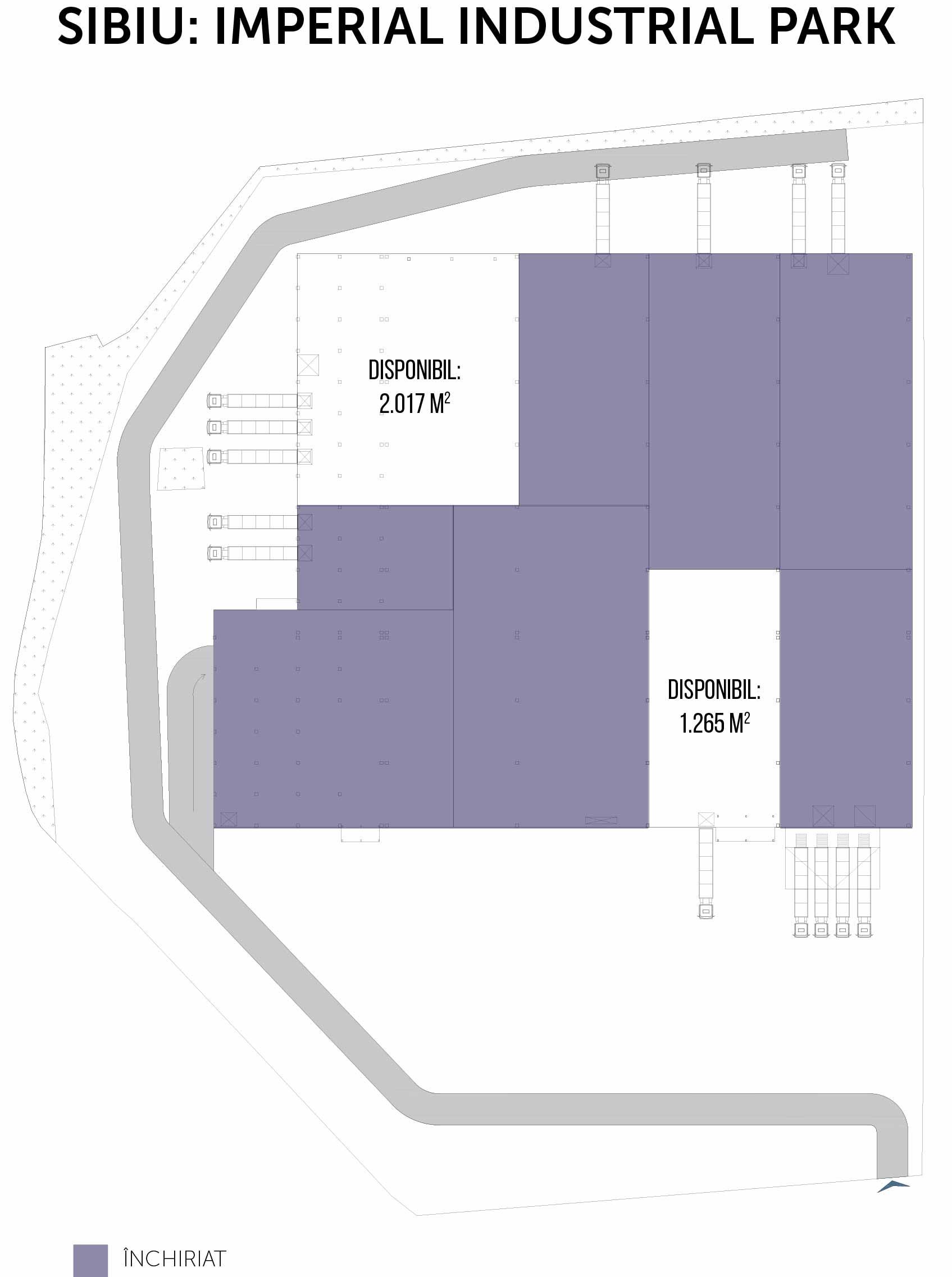 plan Imperial Industrial Park