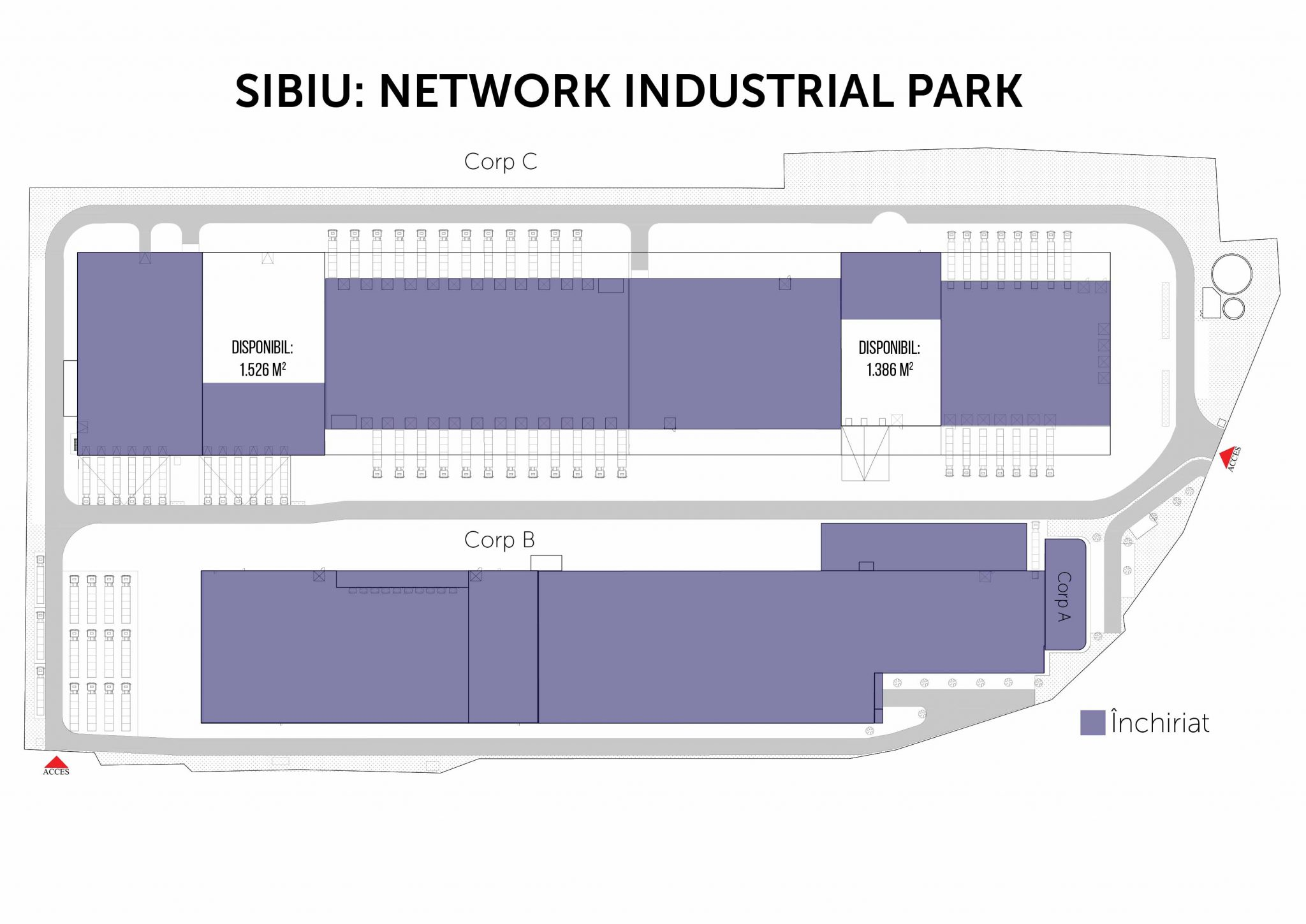 plan Network Industrial Park