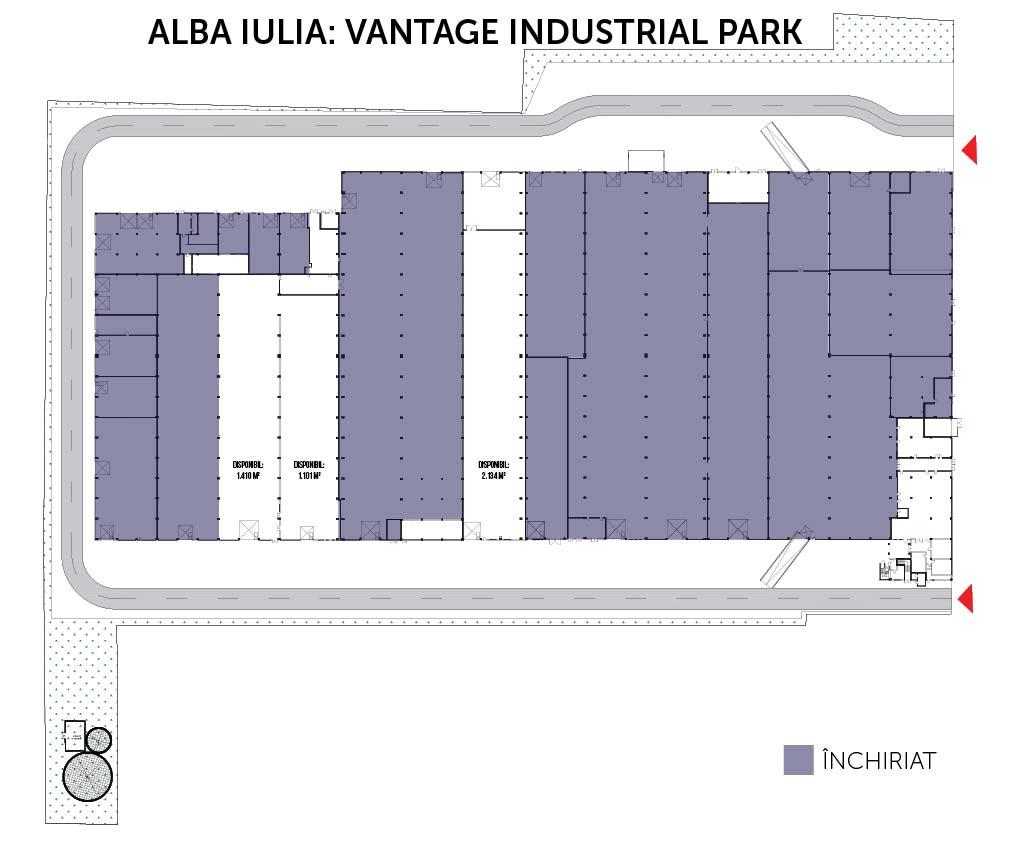 plan Vantage Industrial Park